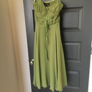 100% silk Nicole Miller dress
